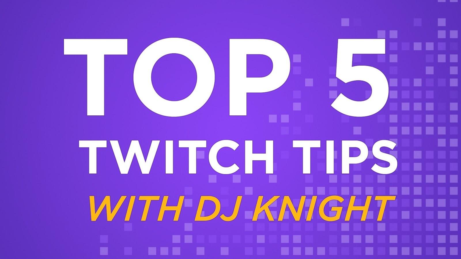 """D'Juan """"Deejay Knight"""" Irvin's Top 5 Streaming Tips - Hero image"""