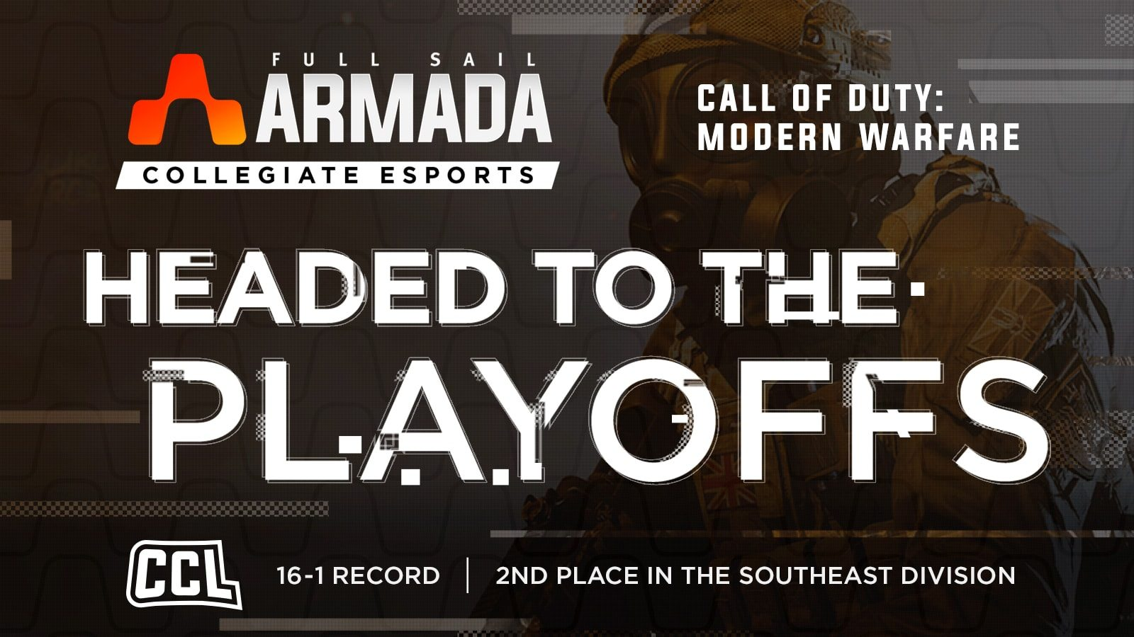 Full Sail Armada Enters CCL Playoffs - Hero image