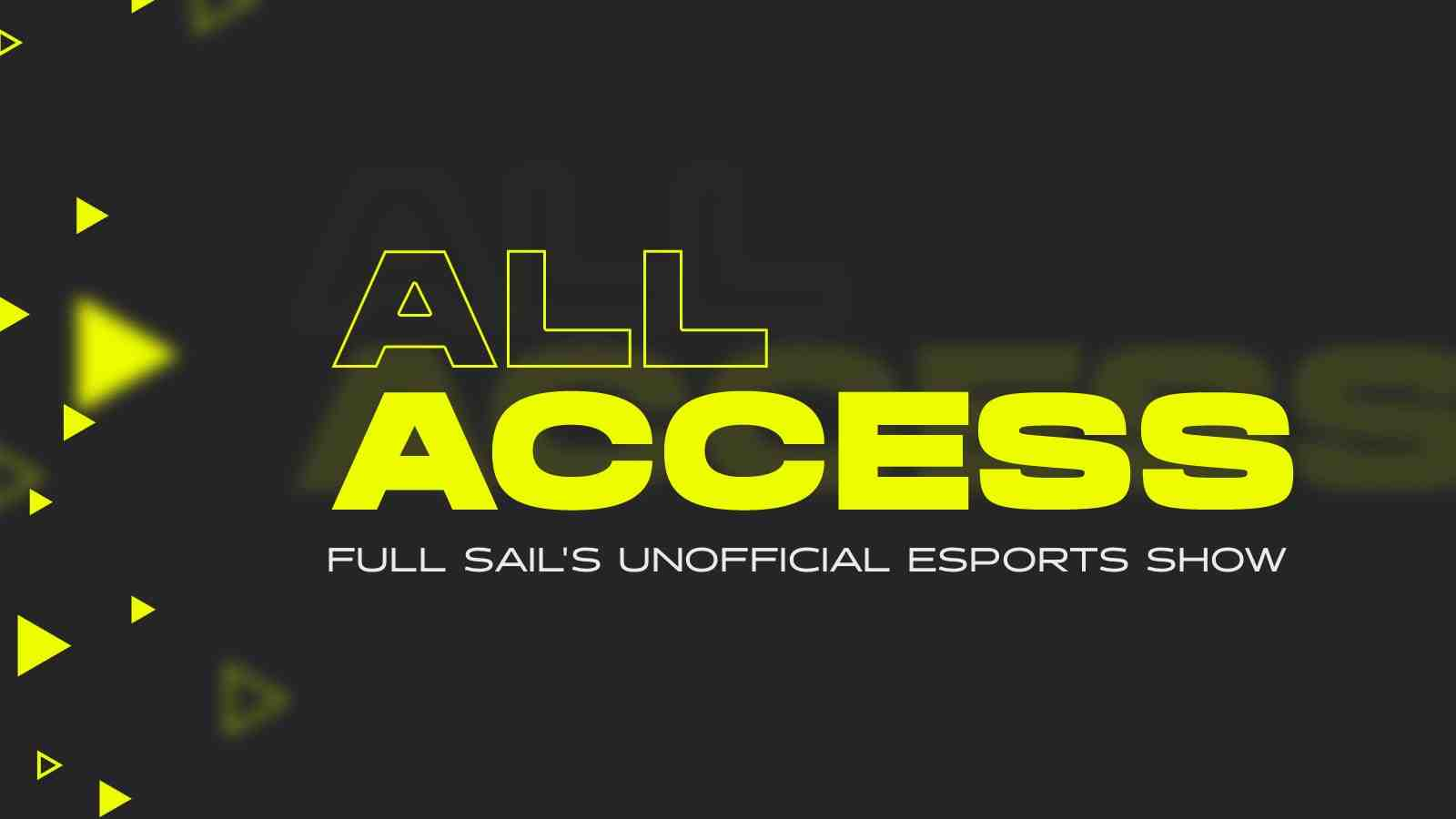 Full Sail Armada Launches 'All Access' Twitch Series - Hero image