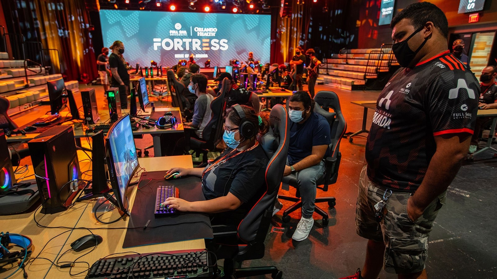 Full Sail Armada's 2021 Tryouts Bring Students Back to Campus - Hero image