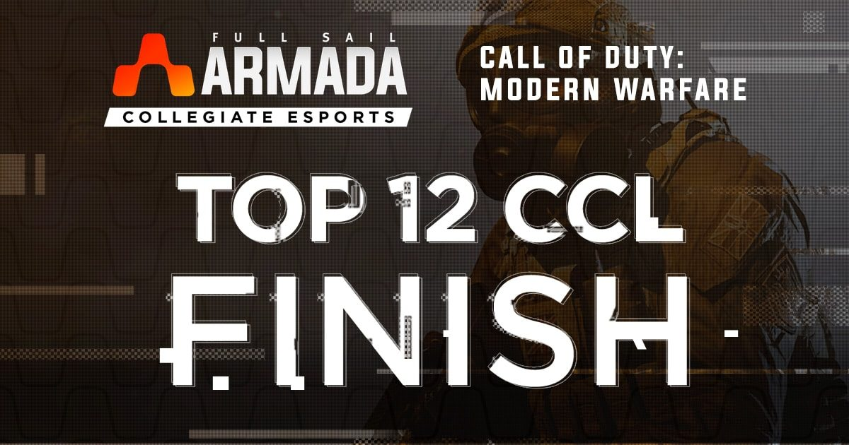 Full Sail Armada's 'Call of Duty' Team Finishes in Top 12 of CCL 2020 League - Hero image