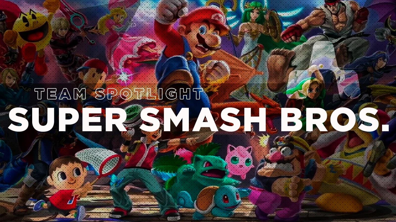 Team Spotlight: Super Smash Bros. Ultimate - Hero image