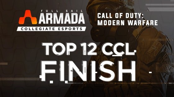 Full Sail Armada's 'Call of Duty' Team Finishes in Top 12 of CCL 2020 League - Article image