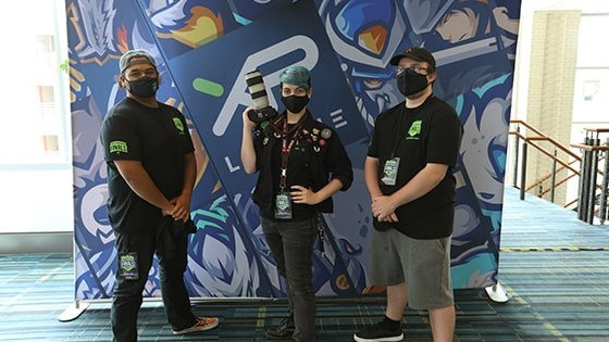 Grads in Production Roles at XP League North American Finals - Article image