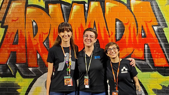 Two Students Work Behind the Scenes at 'Hearthstone' Event - Article image
